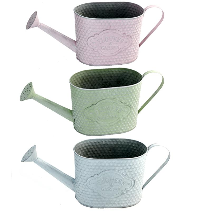 3 Assorted Watering Cans