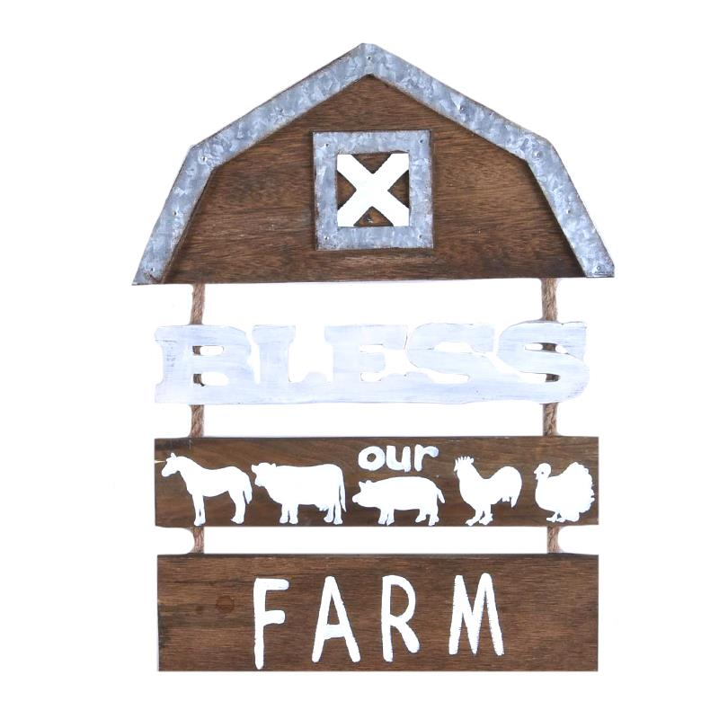 Farm Wall Plaque
