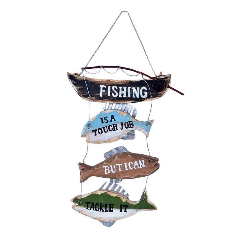 Fishing Wall Plaque