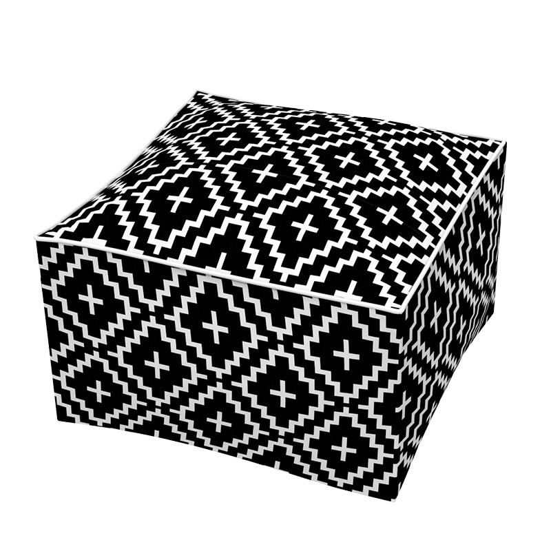 Outdoor Inflatable Square Pouf