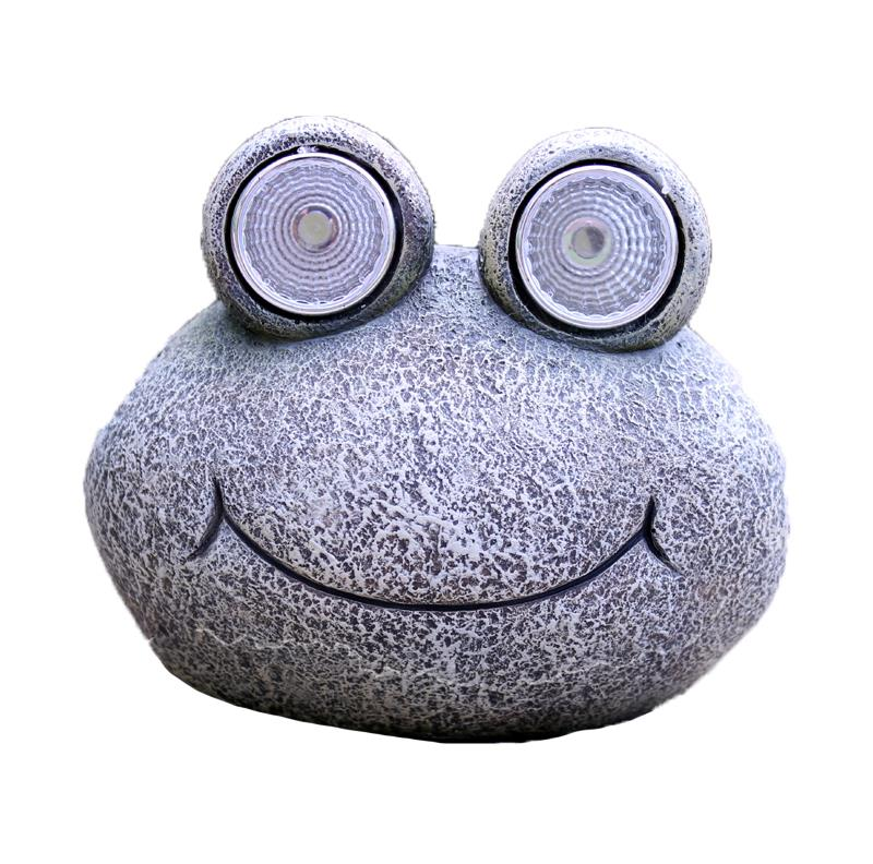 Solar Rock With Eyes