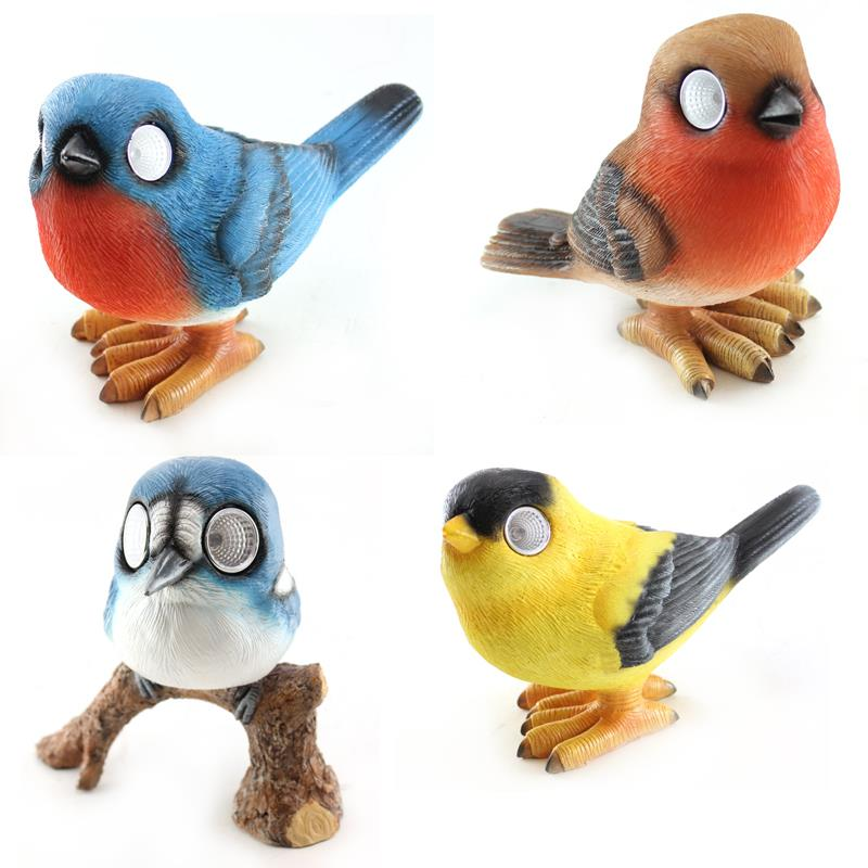Solar LED Birds 4 Assorted