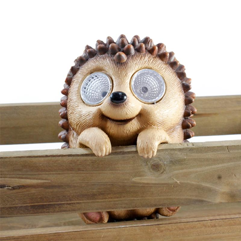 Hedgehog Solar Pot Hanger