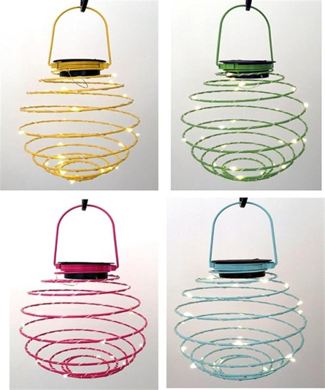 LED Patio Lanterns 4 Assorted