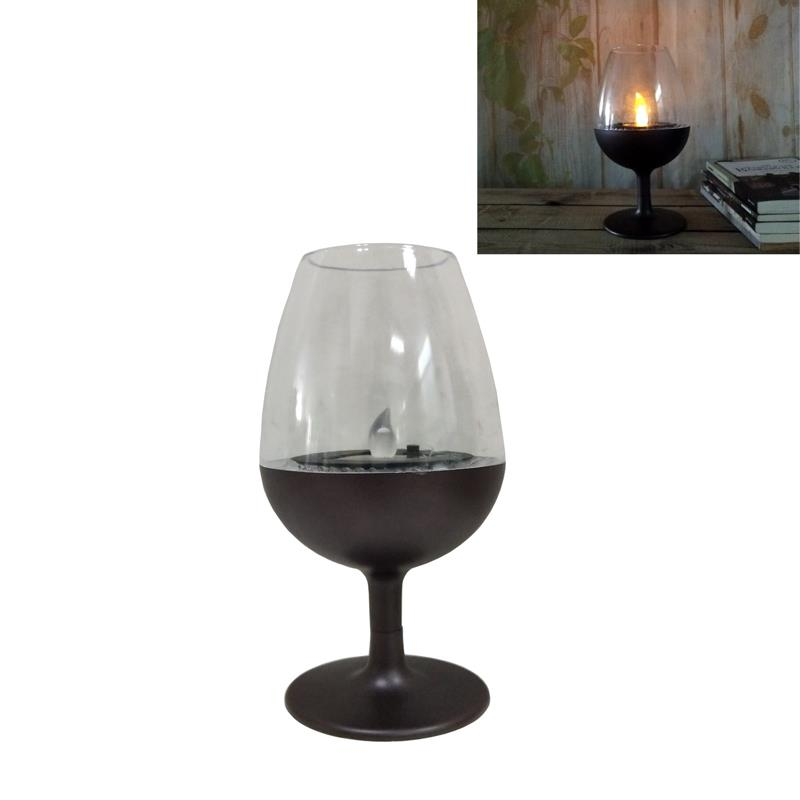 Solar Wine Glass Table Light