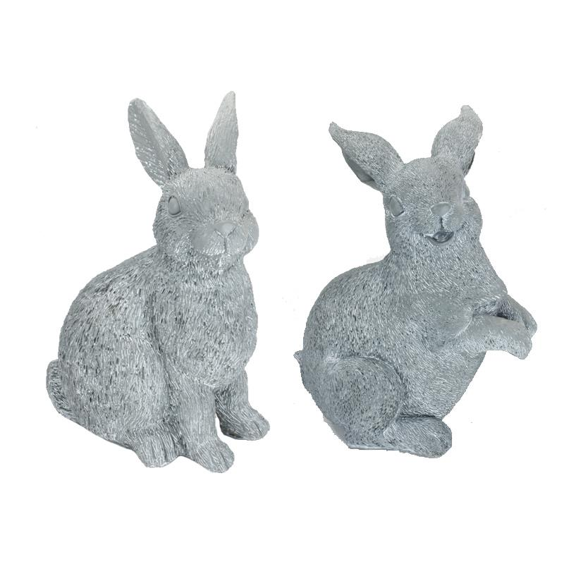 Rabbit Statues 2 Asst.