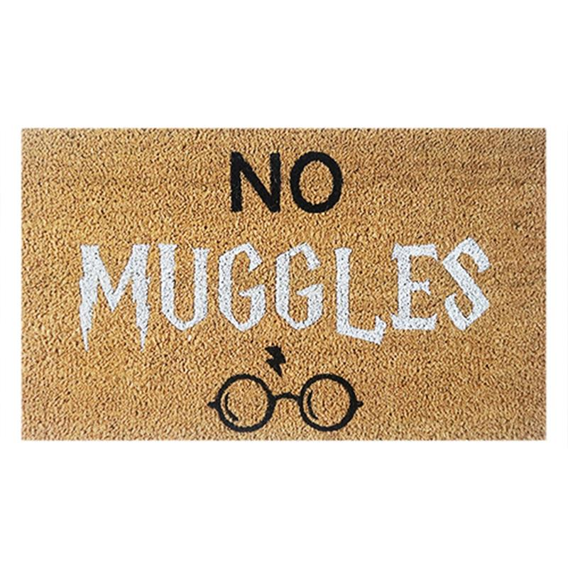 No Muggles Door Mat