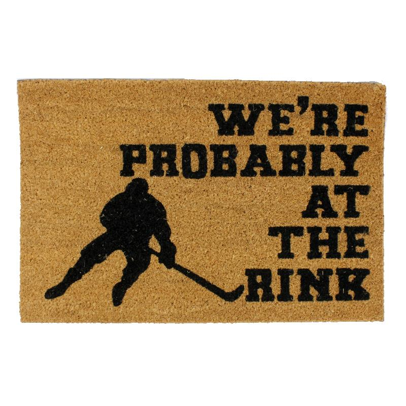 Doormat At The Rink Hockey ©