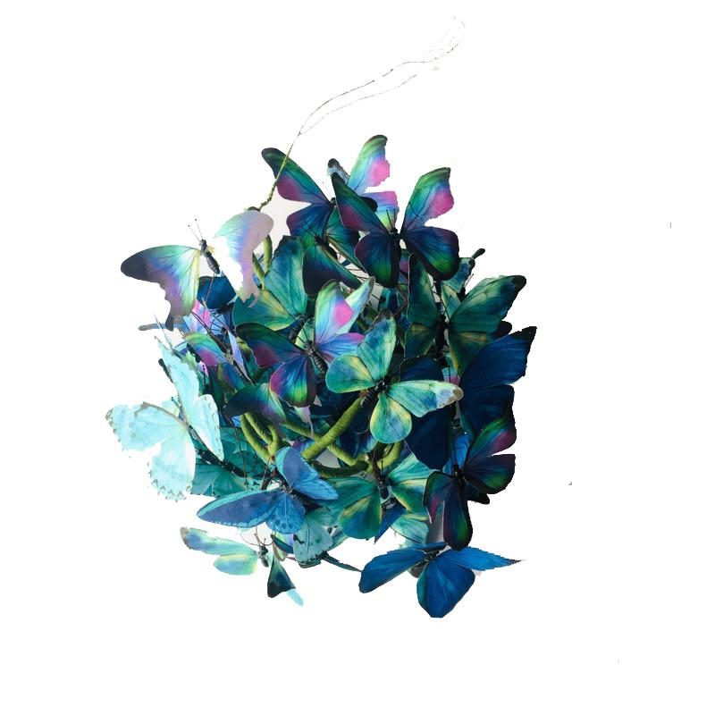 Paper Butterfly Ball Blue