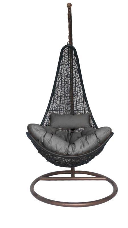 Hanging Chair - Grey pillow