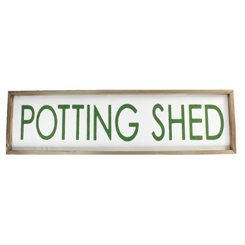 Enamel Potting Shed