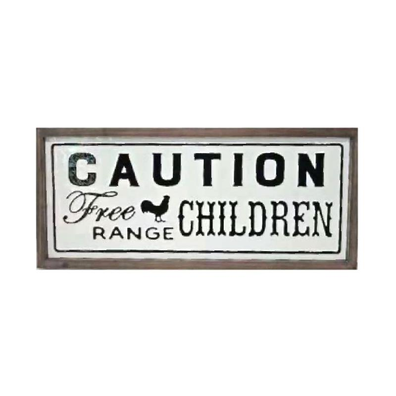 Free Range Children Sign