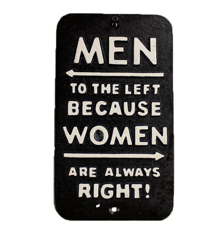 Women Right Sign