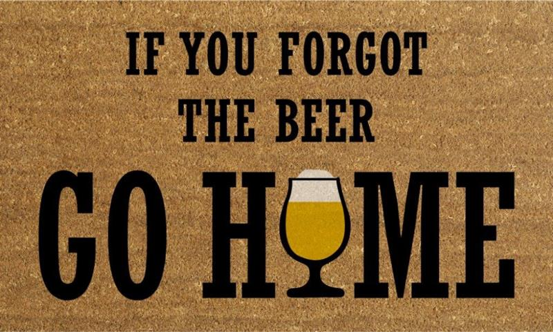 Forgot Beer Doormat