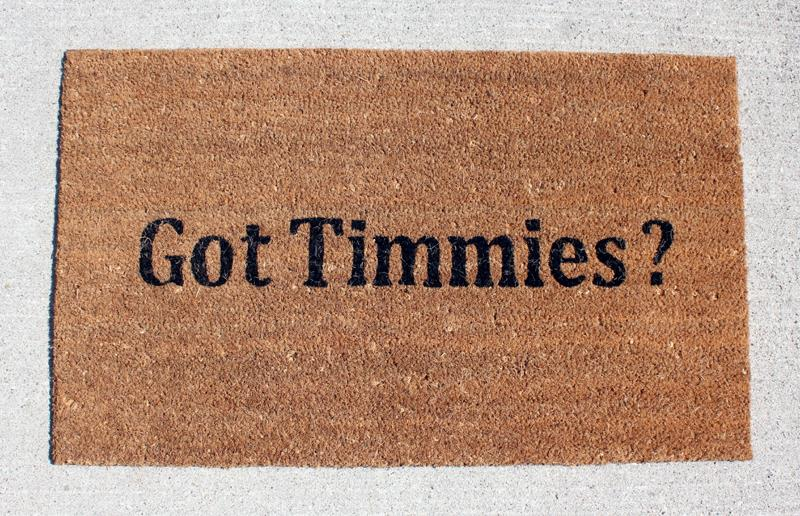 Got Timmies DoorMat