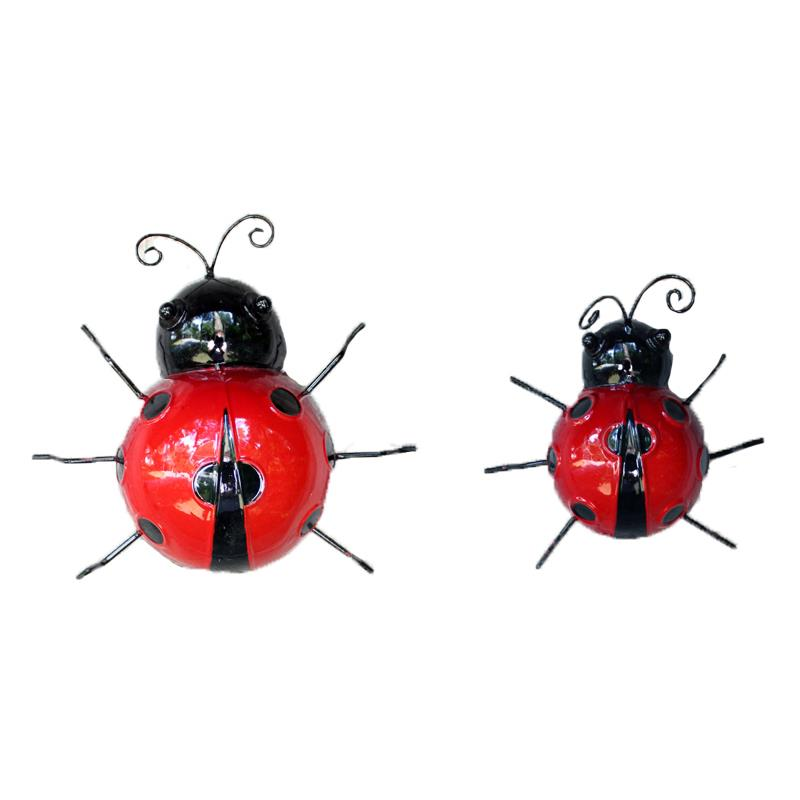 Set of Two Lady Bugs