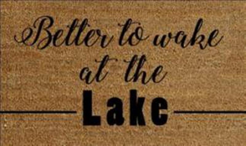 Wake At The Lake Doormat