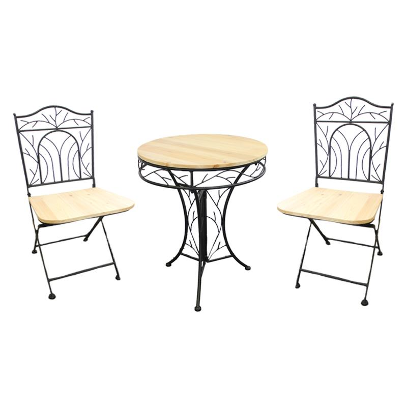 Indoor Table With 2 Chair Set