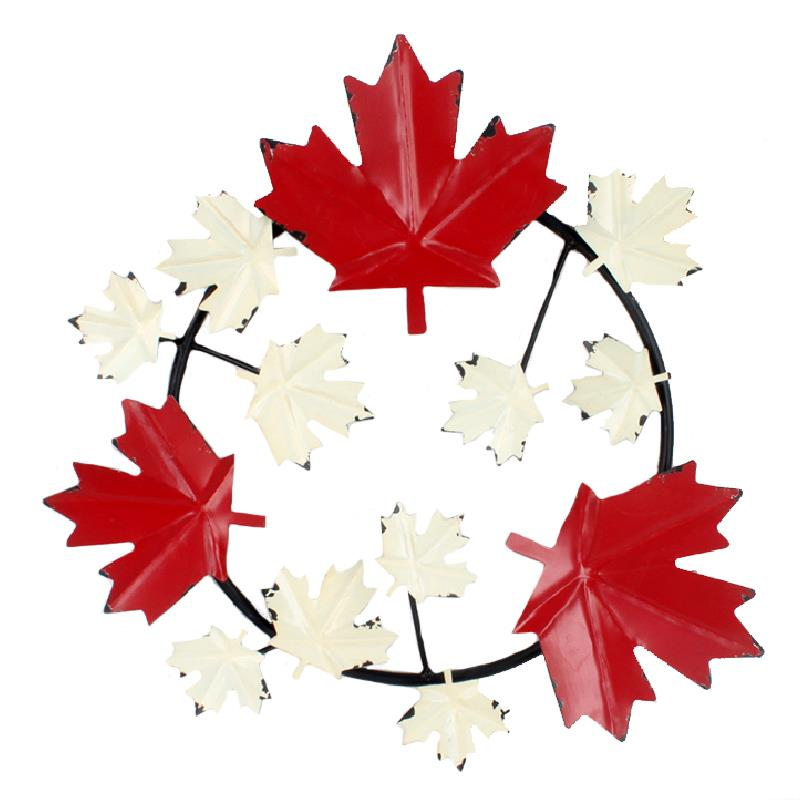 Maple Leaf Wreath Lrg