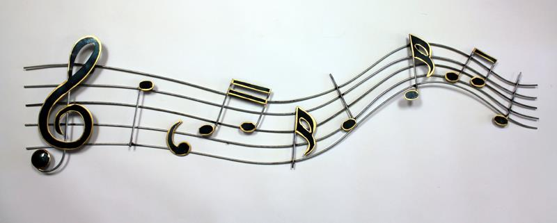 Musical Notes Wall Art