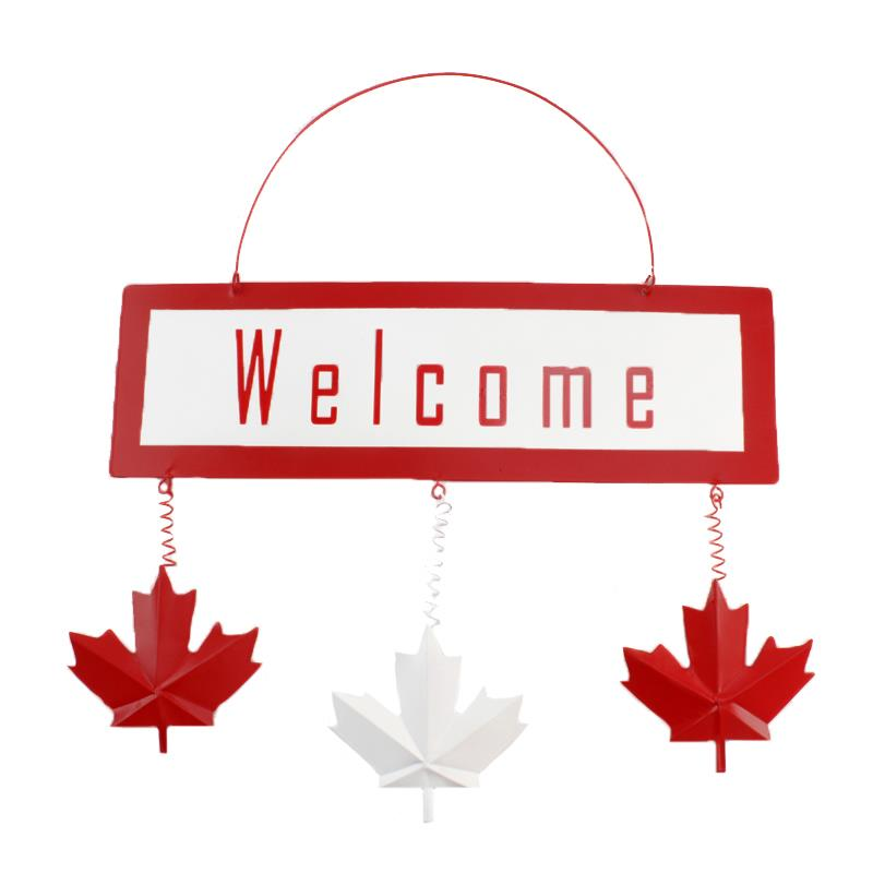 Canada Welcome Sign