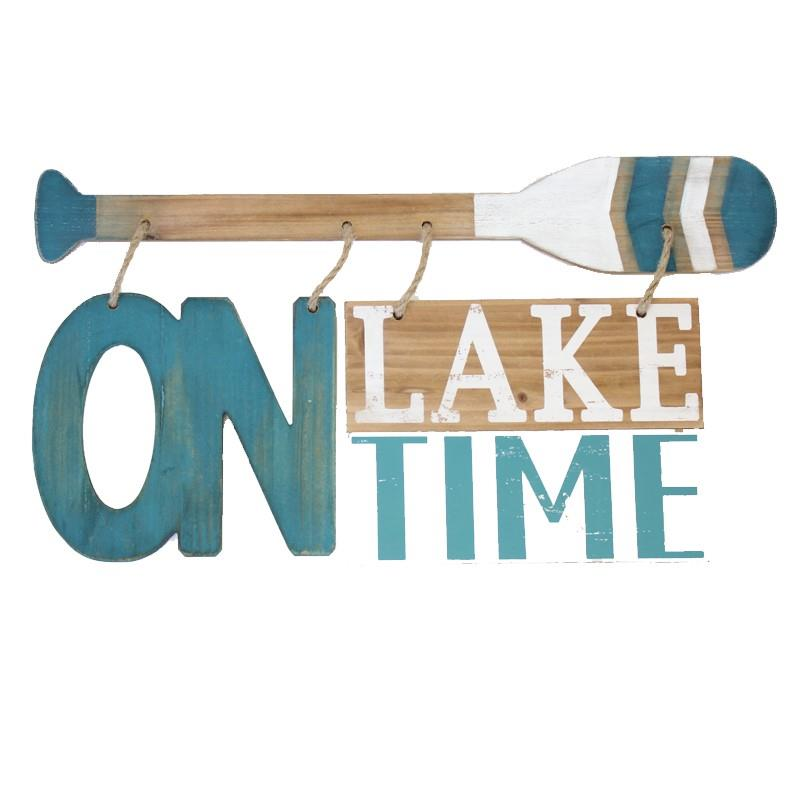 Lake Time Sign