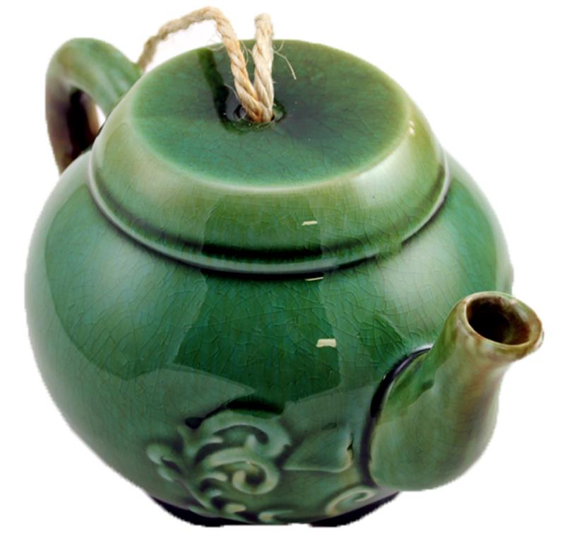 Green Teapot Water Can