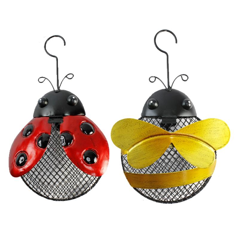Bug Bird Feeders 2 Asst