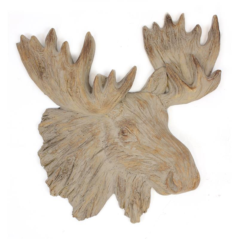 Moose Head Plaque