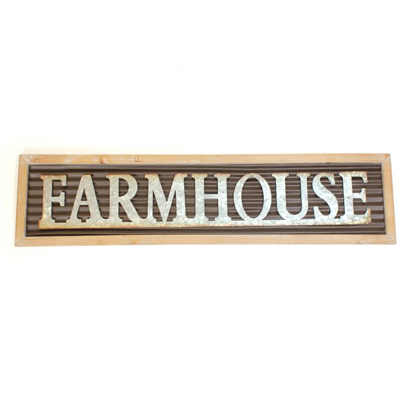 Farmhouse Plaque