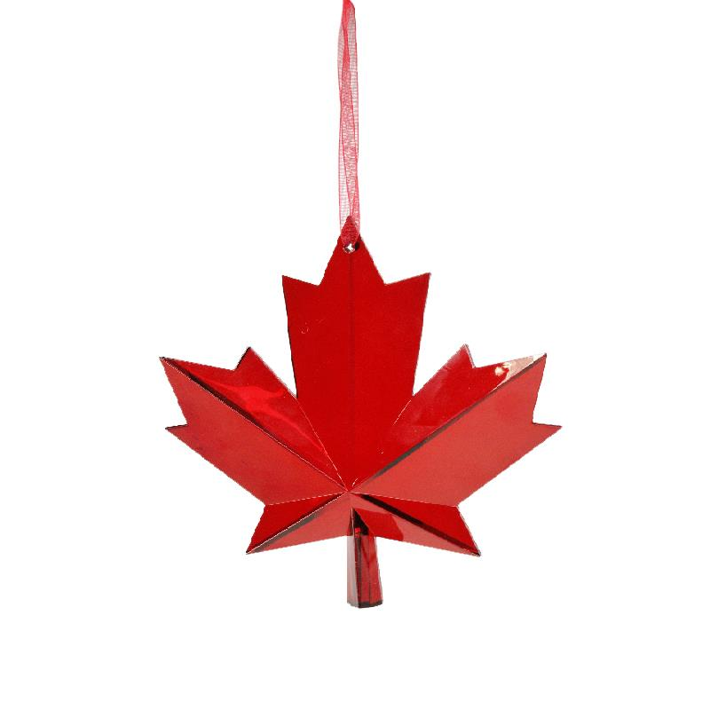 Maple Leaf  Canada Suncatcher