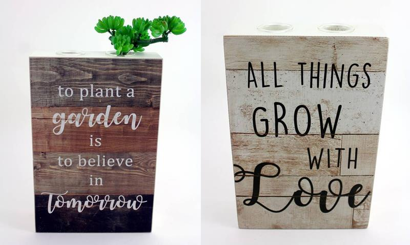 Grow Plaques 2 Assorted