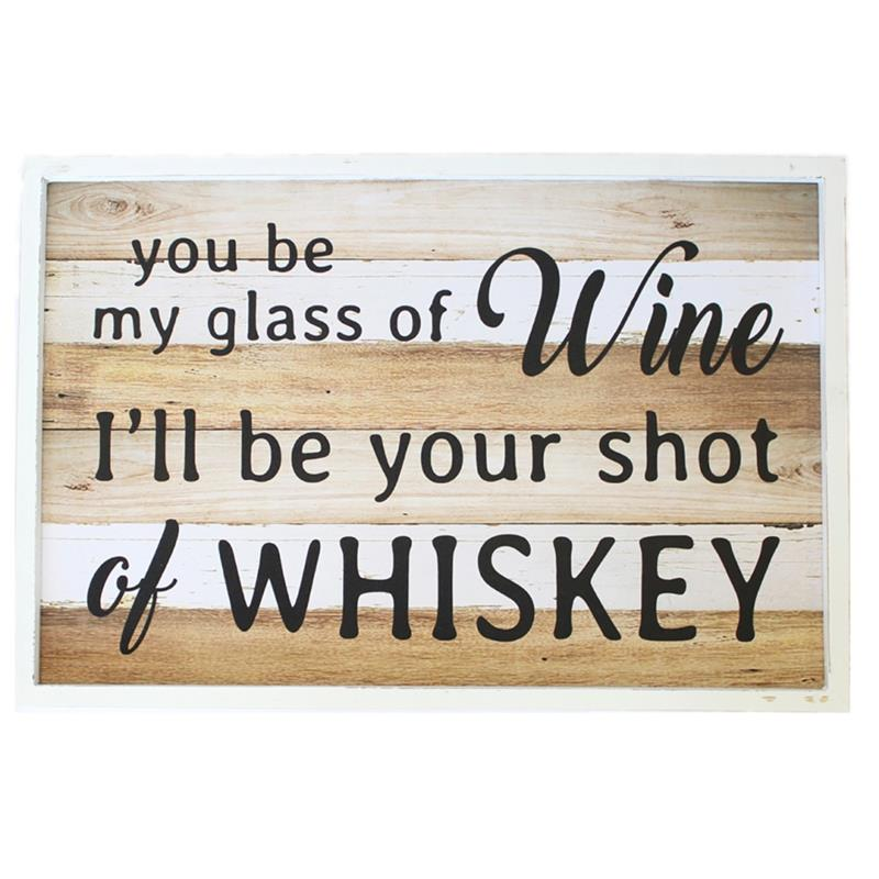 My Glass of Wine Sign *