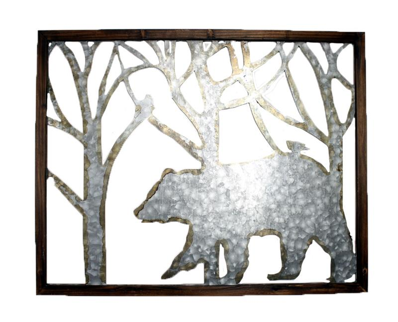 Bear Plaque