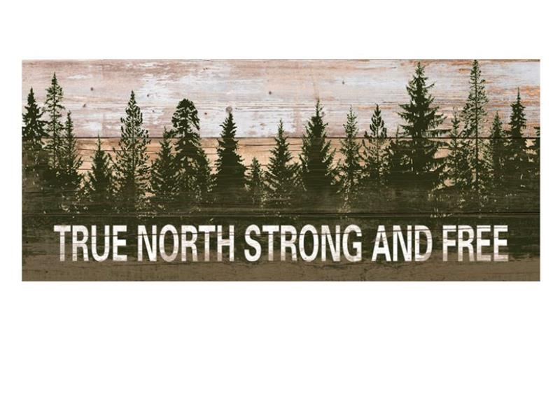 Strong & Free Plaque