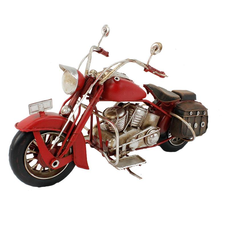 Chopper Motorcycle Red
