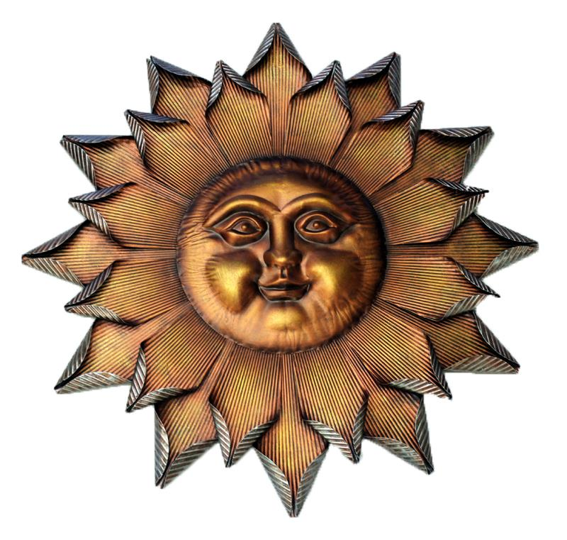 Sun Face Wall Art