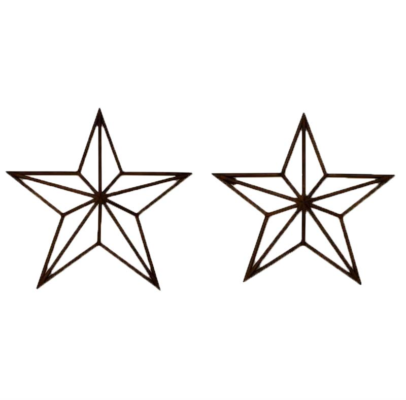 Star Wall Decor 2 Assorted