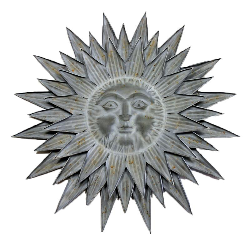 Sun Face Wall Art ~