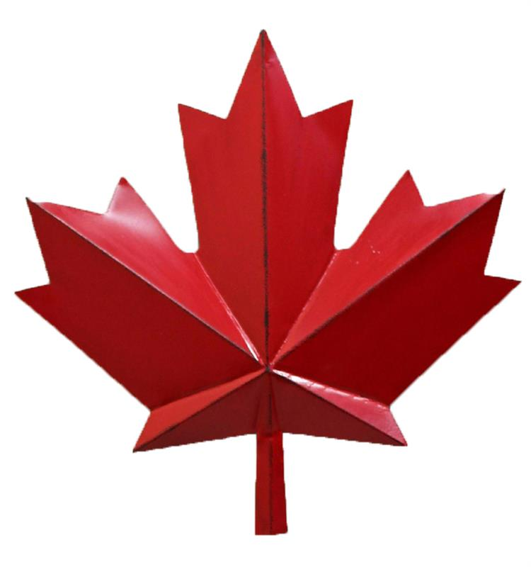 Maple Leaf Canada  Decor =