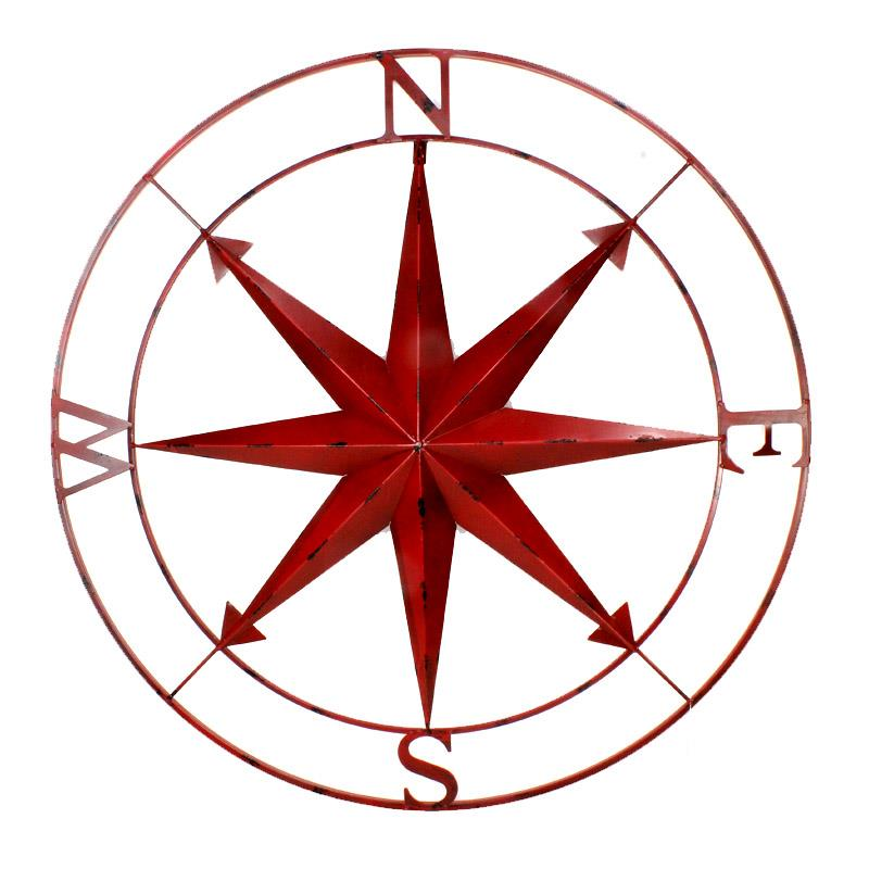 Compass Wall Art =