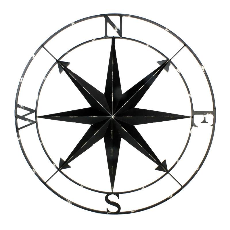 Wall Compass - Black