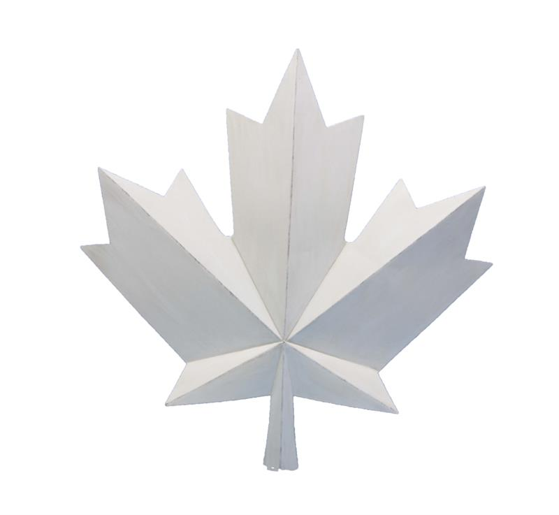 White Maple Leaf-Canada Decor