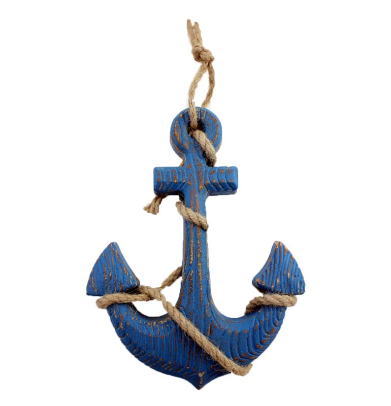 Anchor With Rope Decor