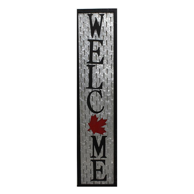 Canada Welcome Plaque