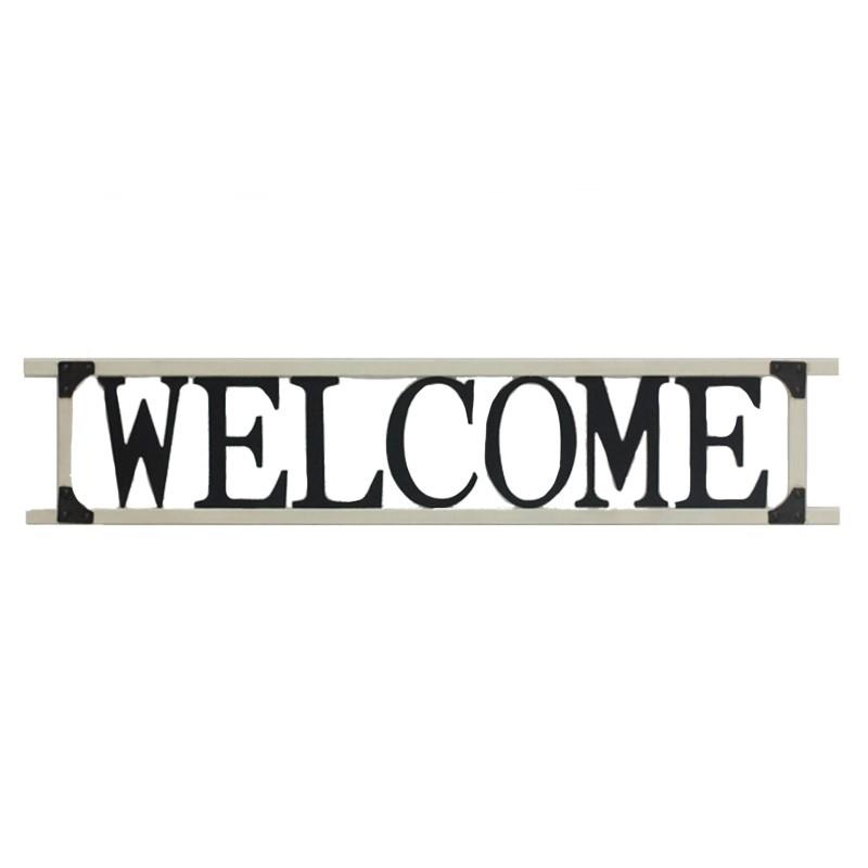 Welcome Wall Sign