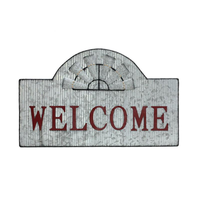 Welcome Farmhouse Style Sign