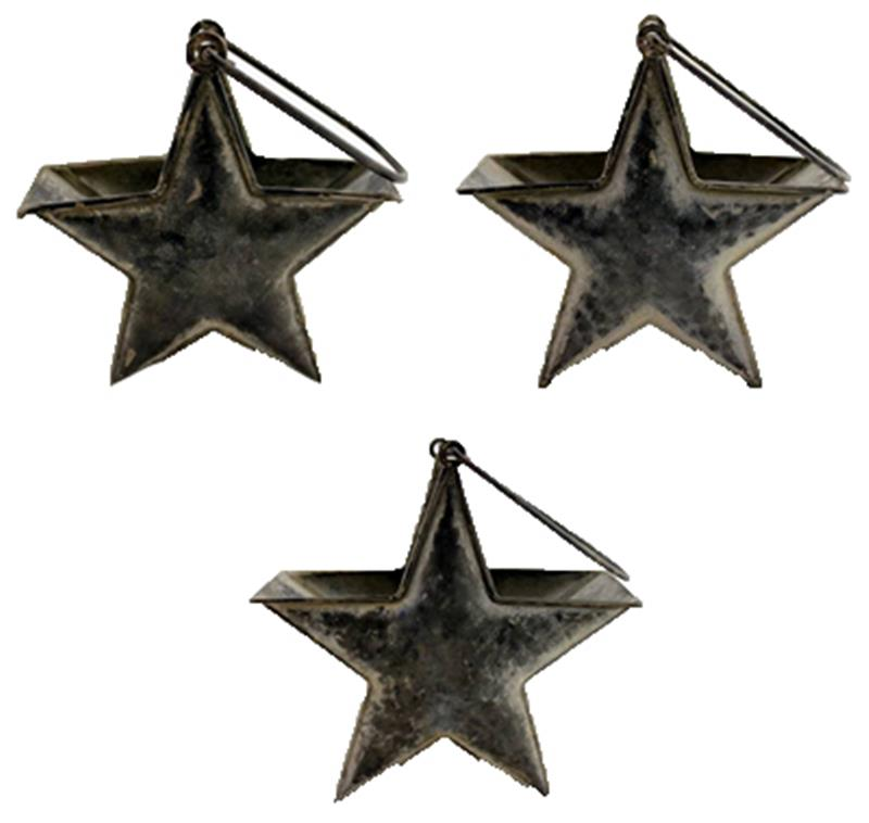 Set of 3 Star Contrainers