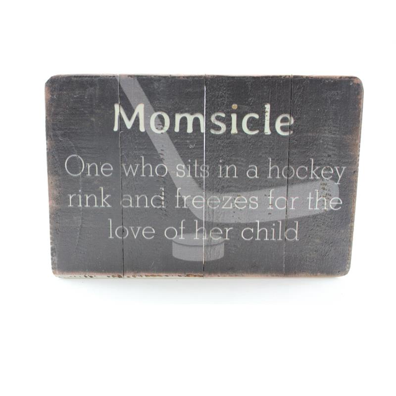 Momsicle Box Sign