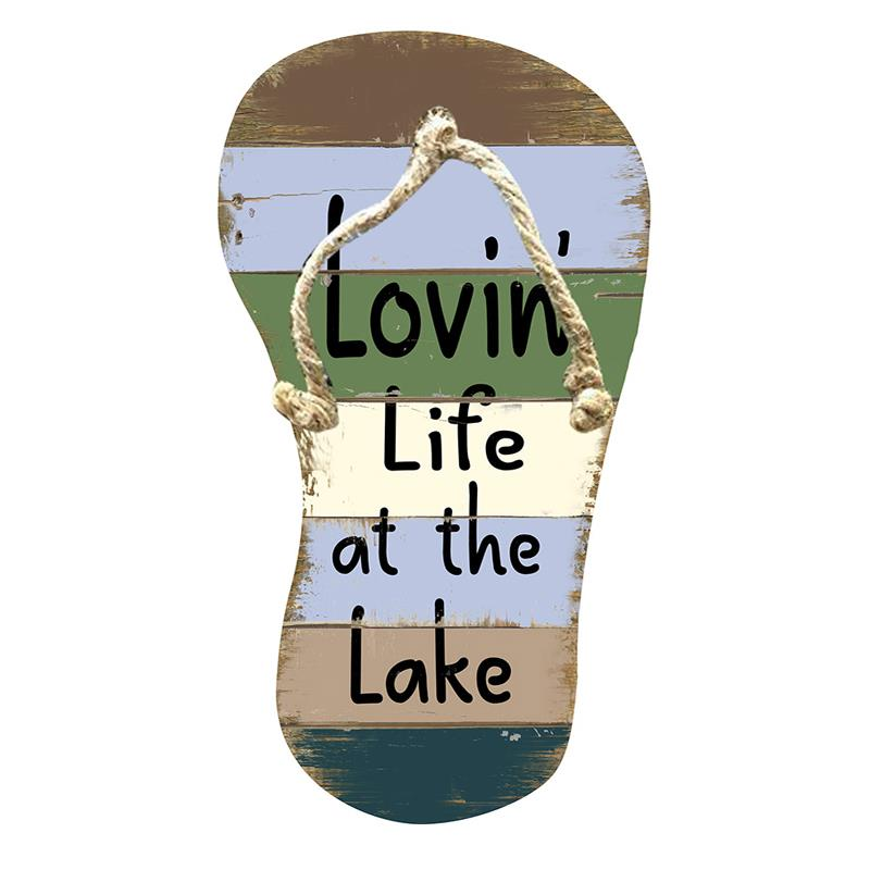 Flip Flop Lake Plaque